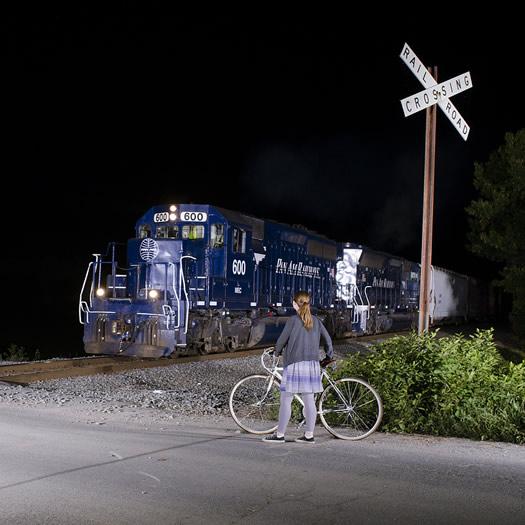 night train in Schaghticoke by william gill