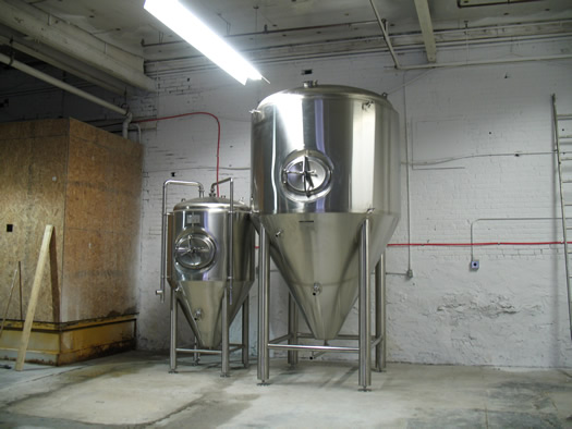 nine pin cider tanks