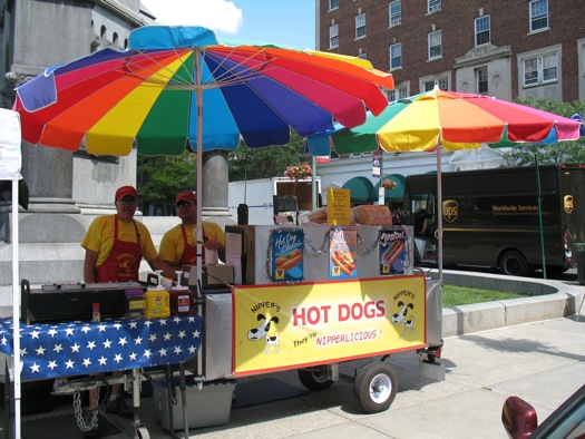 Nipper's hot dog stand