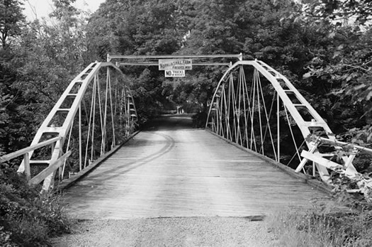 normansville whipple truss bridge