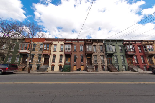 north central rowhouses