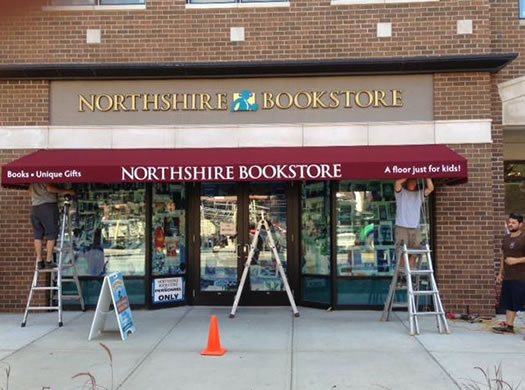northshire bookstore saratoga exterior pre-opening