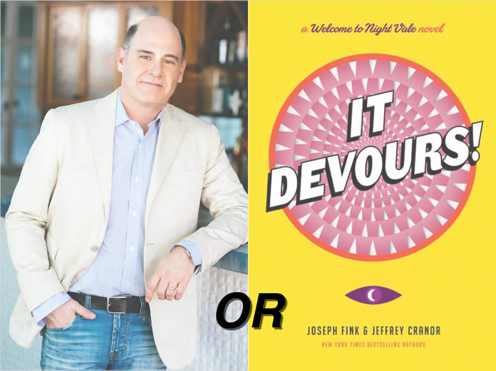 northshire drawing Matthew Weiner or Welcome to Night Vale