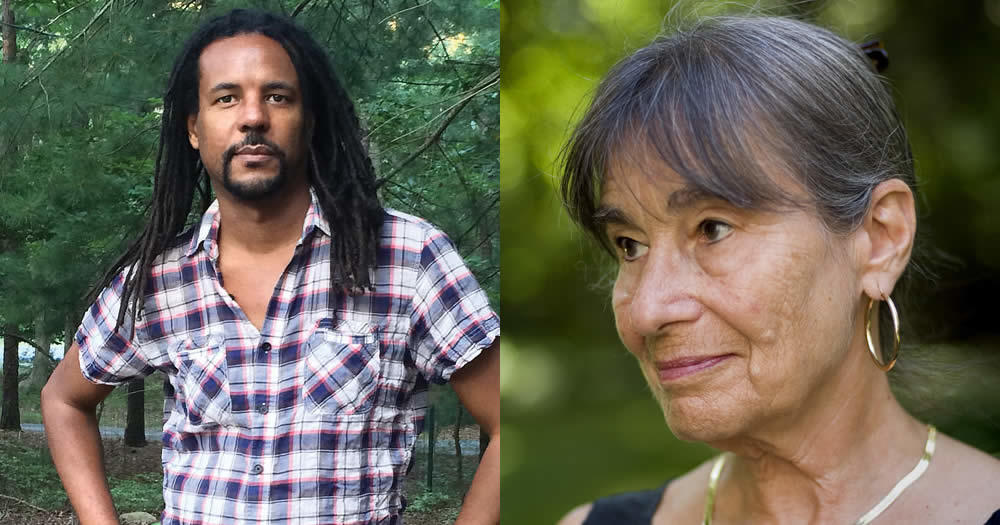 novelist Colson Whitehead and poet Alicia Ostriker