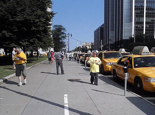 taxis at nys capitol