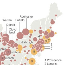 NYT recession map clip