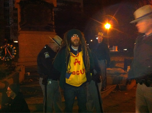 occupy albany lafayette arrests 2011-11-12