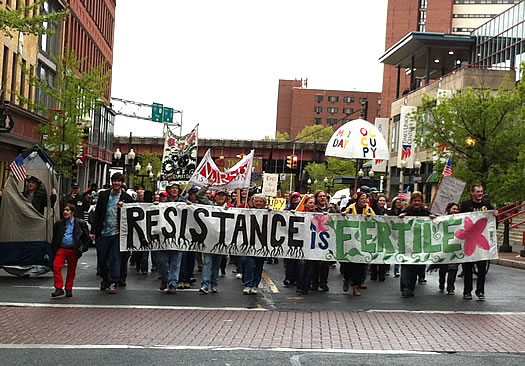 occupy albany march 2012-05-01 pearl street