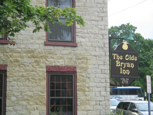 Olde Bryan Inn sign