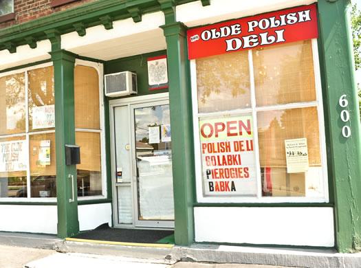 olde polish deli exterior