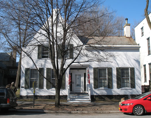 oldest house in schenectady maybe