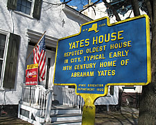 oldest house in schenectady maybe marker