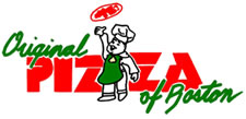 original pizza of boston logo