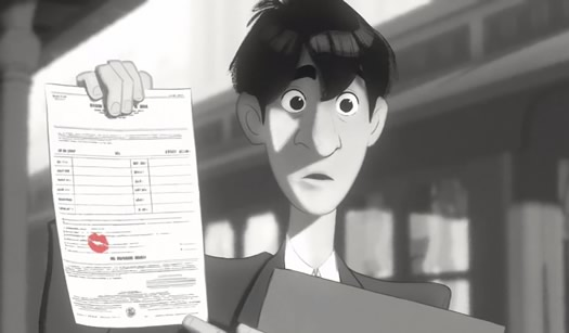 paperman animated short still
