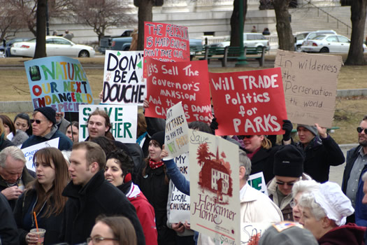 parks rally at capitol