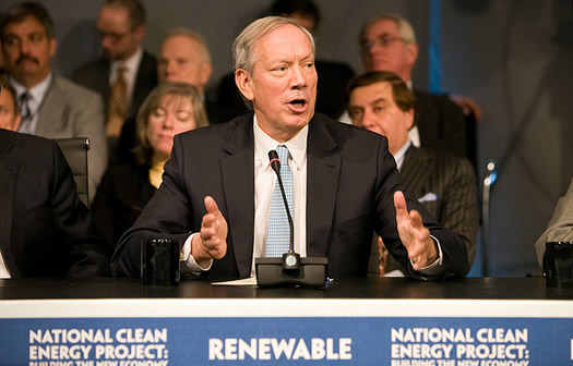pataki speaking at conference
