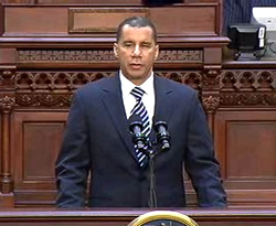 paterson state of state 2010