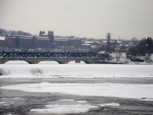 peebles island winter cohoes