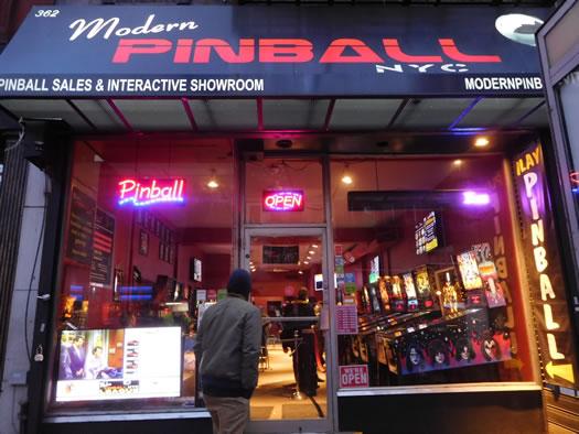 pinball modern pinball nyc