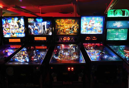pinball robot city binghamton