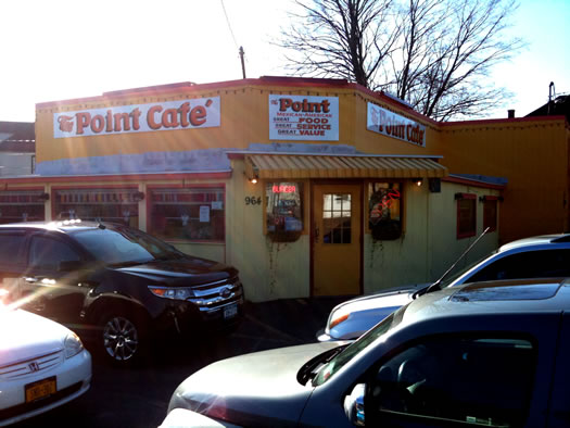 point cafe exterior