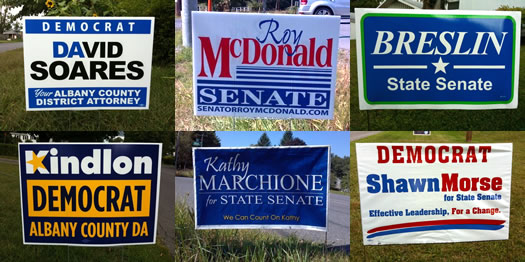 Political Sign Designs