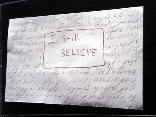 post secret ualbany believe
