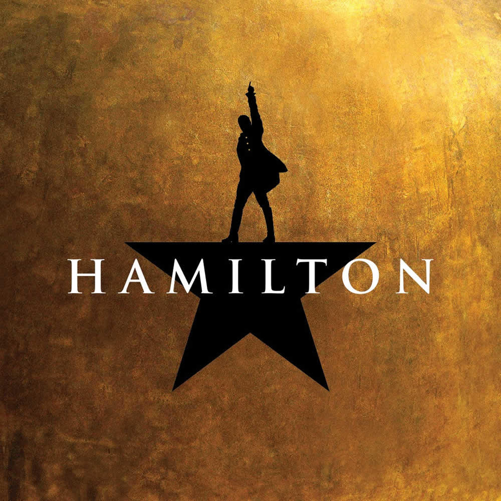 poster for the musical Hamilton