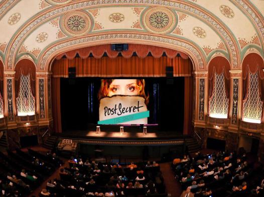 postsecret the show promo image