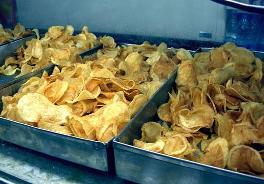 potato chip trays