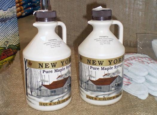quart jugs of maple syrup capital agway