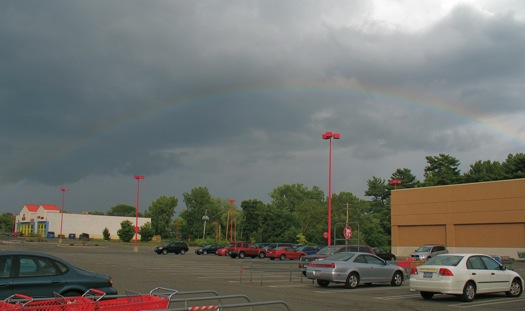rainbow in Colonie