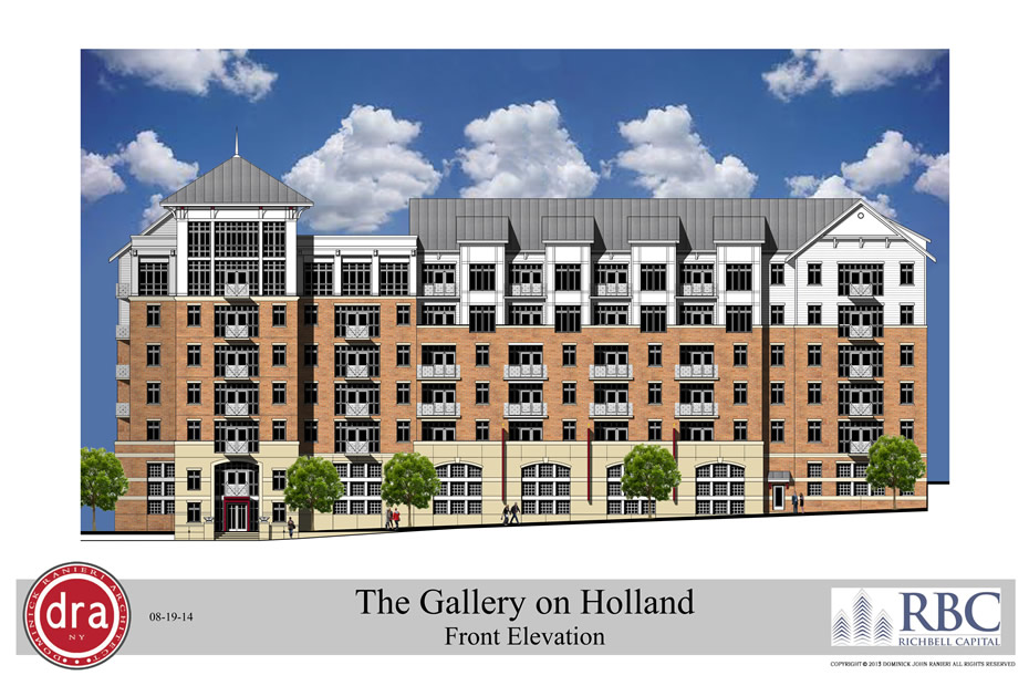 rendering 25 Holland Gallery on Holland