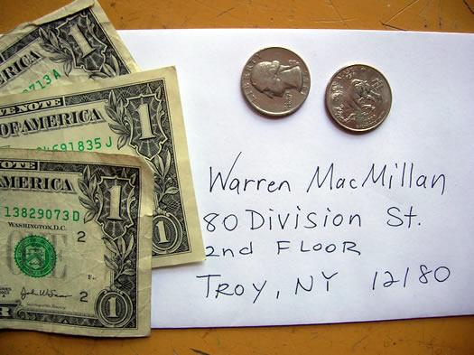 money and envelope