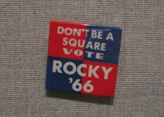 Rockefeller campaign button