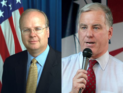 karl rove and howard dean