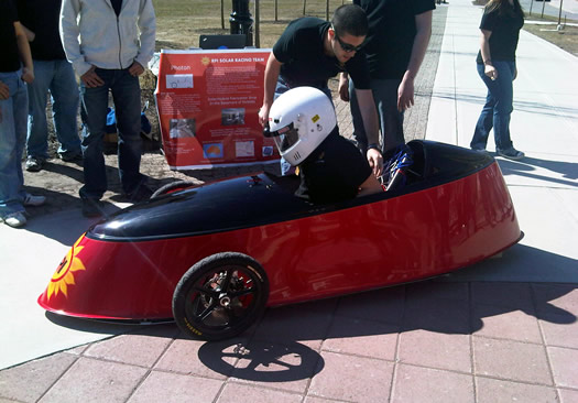 rpi solar racing team car photon