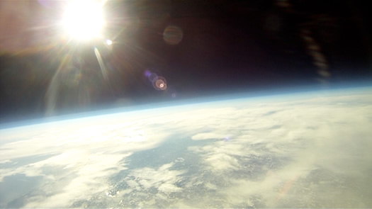 rpi students balloon near space