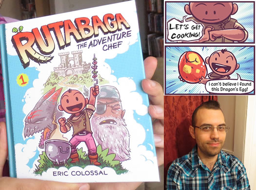 rutabaga comic composite with author