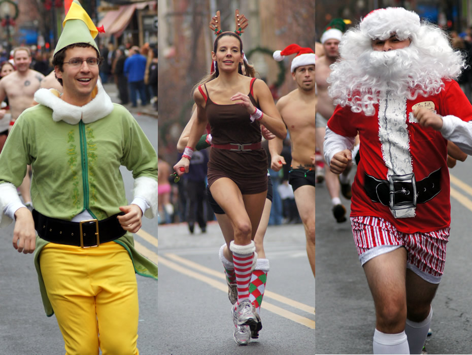 santa speedo sprint 2012 runner composite 2