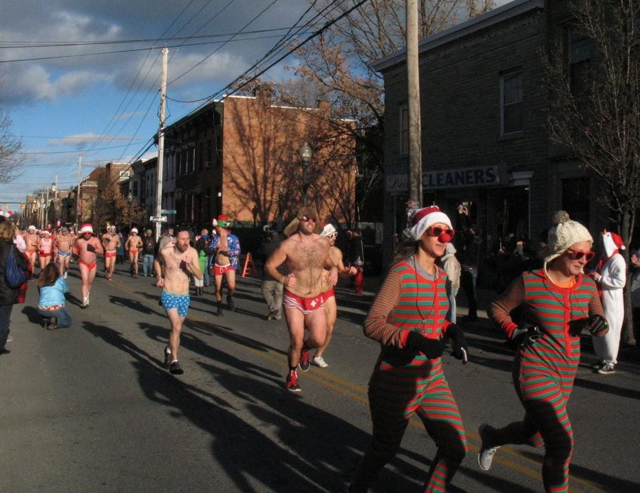 Santa Speedo Sprint 2016