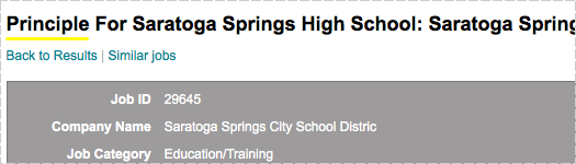 saratoga springs hs principle