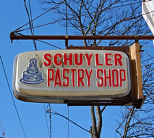 schuyler bakery sign