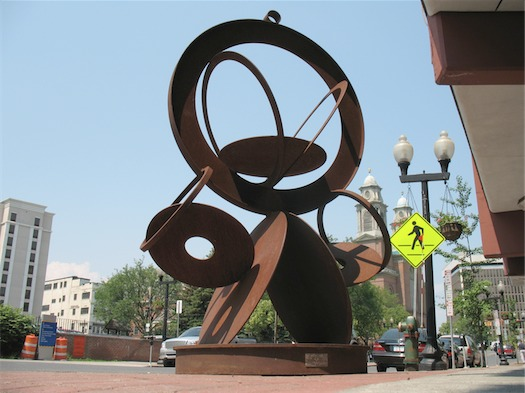 sculpture in the streets at cap rep