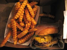shake shack burger