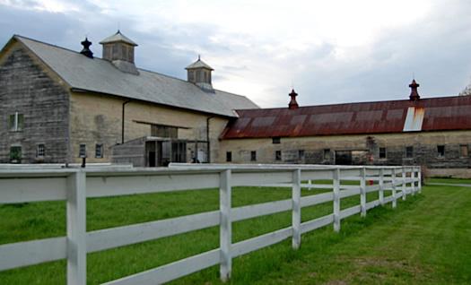 shaker barn exterior