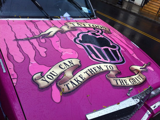 shocker_tattoo_pink_hearse_hood.jpg