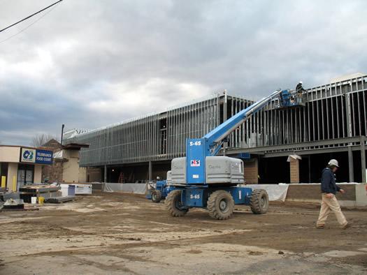 shoprite albany construction riser