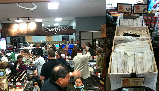 shoprite niskayuna fish counter