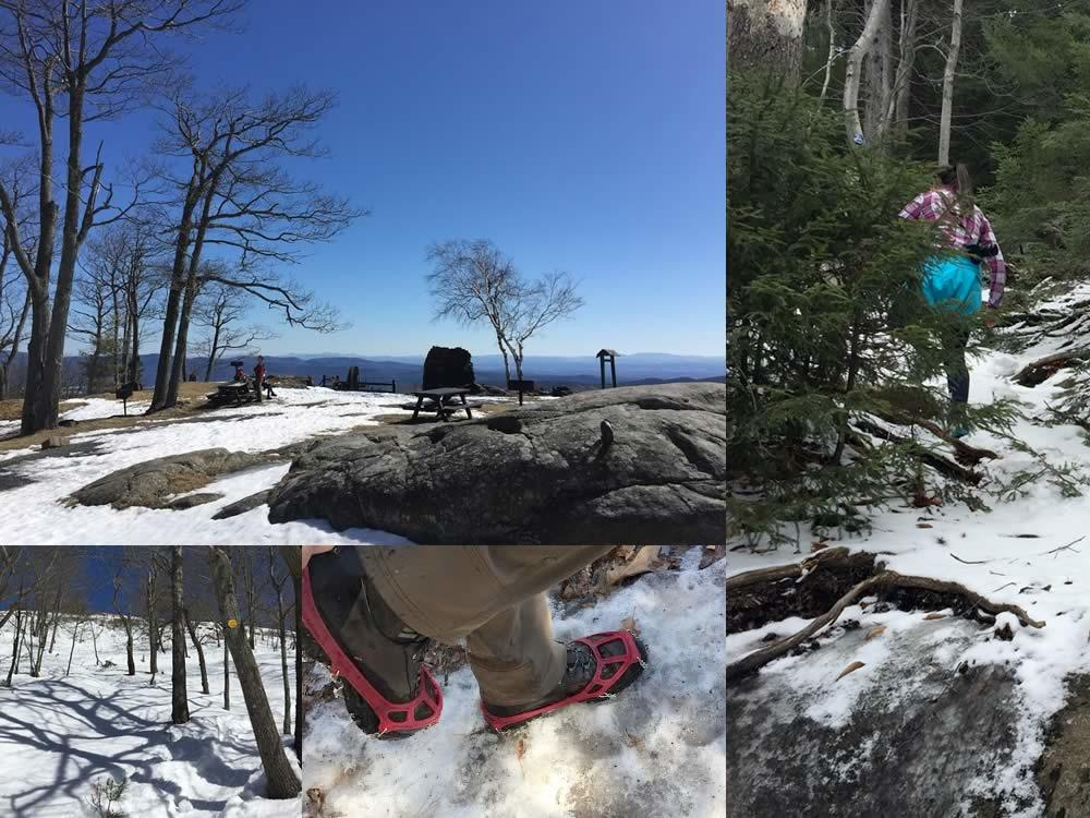 shoulder season hiking composite